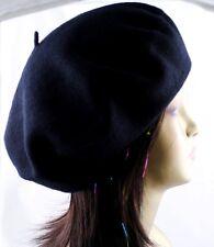 1 Piece 100% Wool Beret Tam French Artist Beanie Hat Cap Winter Ski Unisex