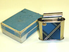 AP (ALTENPOHL & PILGRAM) POCKET LIGHTER - BLUE LACQUER - 1934 - MADE IN GERMANY