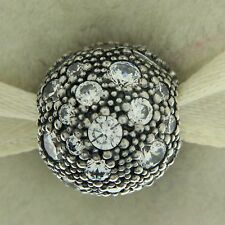 Authentic Pandora 791286CZ Cosmic Stars Clear Clip Sterling Silv Bead Charm