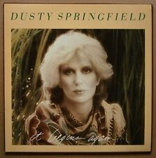 LP Dusty Springfield ‎– It Begins Again... Holland Nm 1978 Mercury