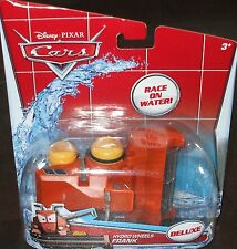 Disney CARS Hydro Wheels ~ FRANK the Combine  DELUXE Bathtub Pull Back Water Toy