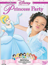 DISNEY - PRINCESS PARTY VOL 1 - AUTHENTIC DISNEY NOT CHEAP IMPORT COPY