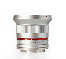 New Rokinon 12mm F2.0 Ultra Wide Angle Lens for Samsung NX - Silver