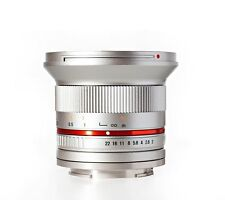 New Rokinon 12mm F2.0 Ultra Wide Angle Lens for Sony E-Mount (NEX) - Silver