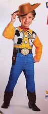 BOYS 4 5 6 DISNEY TOY STORY WOODY COWBOY HALLOWEEN COSTUME 4-6 WESTERN