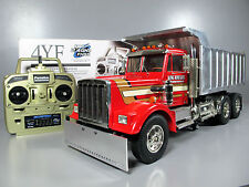 Custom Convert Tamiya 1/14 RC King Hauler Semi Dump Truck Futaba ESC One of Kind
