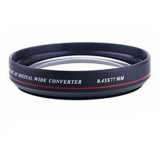 ZOMEI 77mm 0.45x Ultra Slim Wide Angle Filter Lens for Nikon Canon DSLR Camera