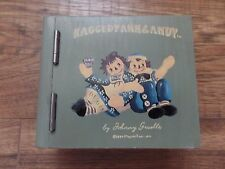 RARE 1994 MacMillan Raggedy Ann Andy Wooden Green Hinged Box  Japan