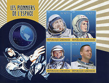 Gabon 2015 MNH Pioneers of Space 4v M/S Leonov Armstrong Terechkova Stamps