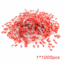 Universal 1000 Pcs/Set 5mm Diffused Red Lens Round LED Light Emitting Diodes SM