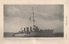 1915 WW1 THE SAUCY ARETHUSA NEW LIGHT CRUISER HELIGOLAND