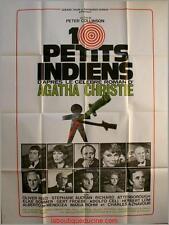 DIX PETITS INDIENS Ten Little Indian Affiche Cinéma Movie Poster AGATHA CHRISTIE