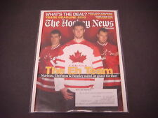 The Hockey News Magazine,March 1,2010,The EH Team,Marleau,Thornton,Heatley