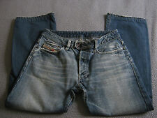 DIESEL RABOX JEANS Size W31 X L27.5 (Hemmed) ART 770 MADE IN ITALY