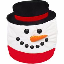Snowman Holiday Toilet Lid Cover/Topper Christmas Decor New