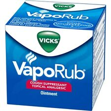 Vicks Vaporub Cough Suppressant Chest And Throat Topical Analgesic Ointment 50ml
