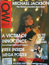 michael jackson  off the wall rare magazine complet du poster geant introuvable