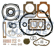 Lower Conversion Gasket Set for Volvo Penta MD1, D1, MD1A Repl: 876393, 875423