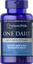 ONE DAILY MEN'S MULTIVITAMIN - DIETARY SUPPLEMENT - 100 COATED CAPLETS