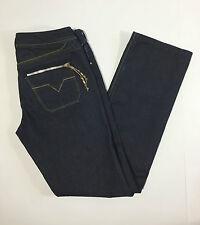 Diesel Lowky W29 L34 42 44 jeans donna blu gamba dritta vintage donna usato slim