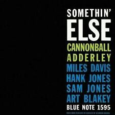 CANNONBALL ADDERLEY Somethin' Else CD BRAND NEW w/ Miles Davis Art Blakey