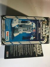 Star Wars Artoo Detoo R2-d2 Large Radio Controlled  Mib Moc Toy Figure Palitoy