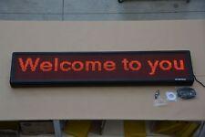 MAXI ENSEIGNE LED 153x32cm GLISSANTE la publicité TEXTE GROS CLAIR 6144pt