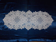 HERITAGE LACE IVORY CLAREMONT TABLE RUNNER 14.5 BY 36 ITEM 6025