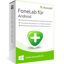 FoneLab für Android Aiseesoft dt.Vollversion-lebenslange Lizenz ESD Download