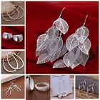 New Woman Fashion Jewelry Multi-styles 925Sterling Silver Earring Hook Earrings