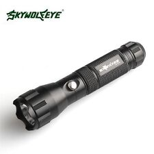 Flashlight Zoom Lamp Tactical 5000Lumens 3-Mode CREE XML T6 LED 18650 BTY Torch