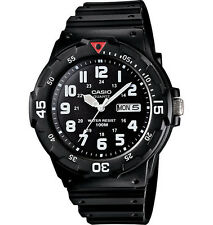 Casio MRW200H-1BV, Analog Watch, Black Resin Band, Day/Date