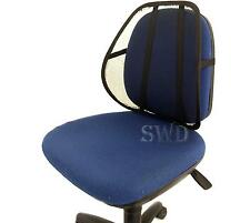 Car Van Seat Mobility Lumbar Support Back Rest Aid Computer Office Chair MESH