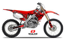 2009 2010 2011 2012 CRF 450R GRAPHICS KIT CRF450R 450 R DECO DECALS MX STICKERS