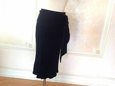 Jean Paul Gaultier Black Knitted Skirt Sz L