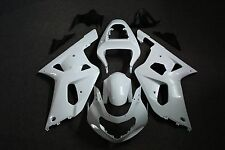 Unpainted ABS Drilled Bodywork Fairing Kit for Suzuki GSXR 600 01-03 750 00-03