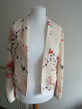 Floral casual jacket Promod size 14 UK / 42 Europe Brand new with tag