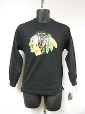 NEW-MENDED NHL Chicago Blackhawks YOUTH Medium M 10/12 REEBOK Shirt