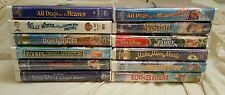 Lot of 12 Walt Disney VHS Movies All Brand New Factory Sealed