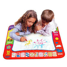 80X60cm Water Drawing Toy Painting Writing Mat Board 2 Magic Pens Doodle Mat