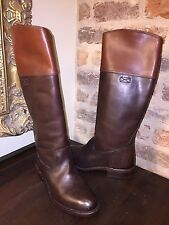 FRYE WOMENS JET RIDING BOOTS DARK BROWN WOMENS 8 NEW WITHOUT BOX