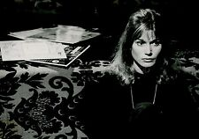 ANOUK FERJAC ALAIN RESNAIS JE T'AIME JE T'AIME 1968 VINTAGE PHOTO ORIGINAL #6