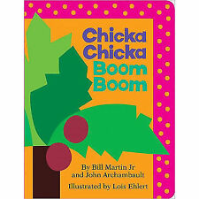 Chicka Chicka Boom Boom (Board Book) by Bill Martin Jr and John Archambault/NEW