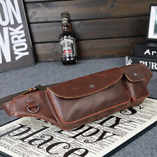Men Classic Casual Waist Hip Bum Belt Fanny Vintage PU Bag Handbag Purse O