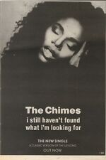19/5/90Pgn50 Advert: The Chimes i Still Havent Found What Im Looking For