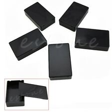 5 Pcs 100x60x25mm Electronic Project Plastic Box Enclosure Instrument Case DIY