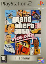 Grand Theft Auto: Vice City - Platinum (PS2), Very Good PlayStation2, Playstatio
