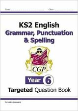 KS2 English Targeted Question Book: Grammar, Punctuation & Spelling - Year 6 New
