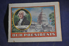 Ca 1935 Our Presidents by Alka Seltzer, Dr Mile Nervine