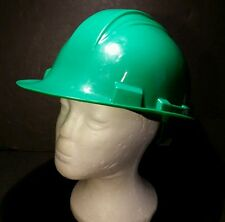 North Safety Cap Hard Hat Type 1 Class E 6 1/2 7 3/4 Adjustable Lining Green